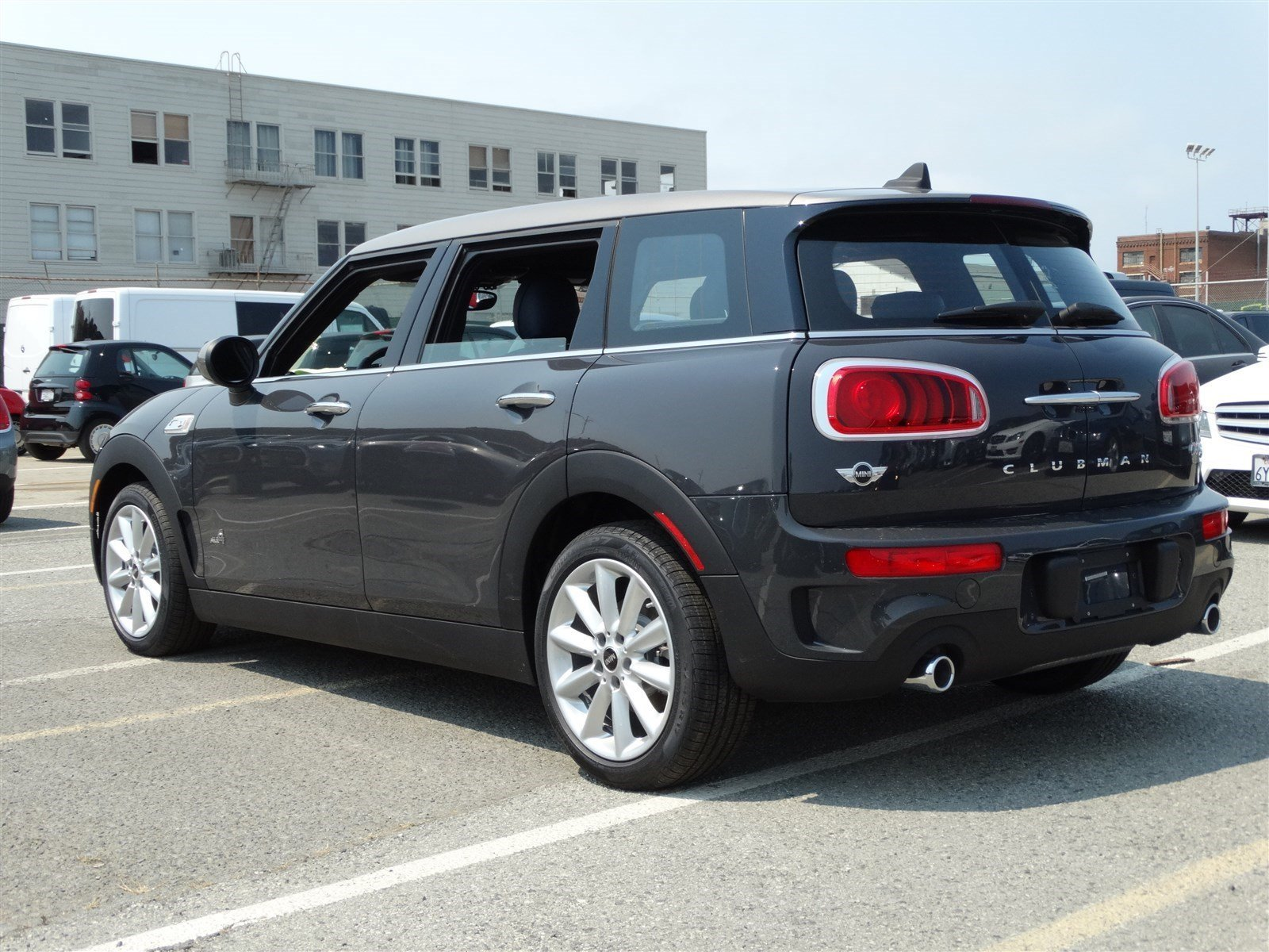new 2017 mini cooper s clubman all4 cooper s station wagon in san francisco m17007 mini of. Black Bedroom Furniture Sets. Home Design Ideas