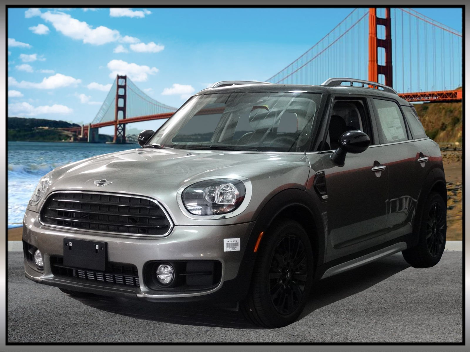 new 2017 mini cooper countryman cooper sport utility in san francisco m17521 mini of san. Black Bedroom Furniture Sets. Home Design Ideas