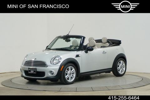 Certified Pre-Owned 2015 MINI Convertible Cooper
